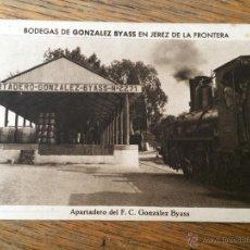 Cartes Postales: BODEGAS GONZALEZ BYASS - Nº 15 - APARTADERO DEL FERROCARRIL - JEREZ DE LA FRONTERA - CADIZ. Lote 43402994