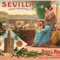 Postales: POSTAL ANTIGUA-RUIZ MORILLO-EXPORTACION DE ACEITUNA. Lote 43504638