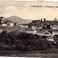 Postales: ANTEQUERA 9 LA MORALEDA Y BARRIO ANTIGUO. ED SIGLO XX. Lote 43585789