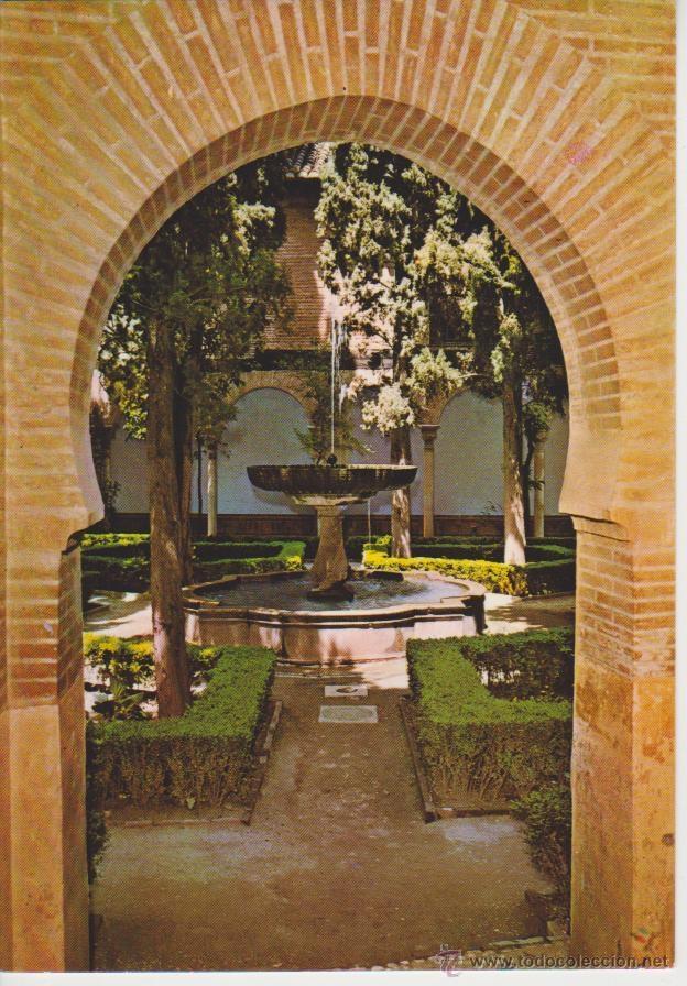 (1138) GRANADA. ALHAMBRA. JARDIN DE LINDARAJA (Postales - España - Andalucia Moderna (desde 1.940))
