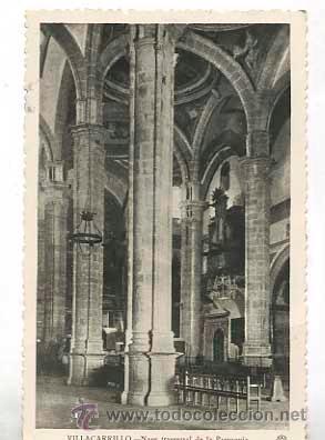 JAEN VILLACARRILLO NAVE TRASVERSAL DE LA PARROQUIA. HAE. CIRCULADA (Postales - España - Andalucia Moderna (desde 1.940))