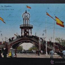 Postales: ANTIGUA POSTAL DE SEVILLA. LA PASADERA. CIRCULADA. Lote 43725514