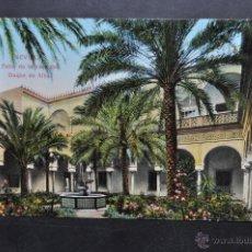 Postales: ANTIGUA POSTAL DE SEVILLA. PATIO DE LA CASA DEL DUQUE DE ALBA. SIN CIRCULAR. Lote 43725567