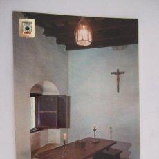 Postales: POSTAL HUELVA - LA RABIDA - SALA DE LAS PRIMERAS CONFERENCIAS - 1968 - SIN CIRCULAR - SUBIRATS 1376. Lote 43956540
