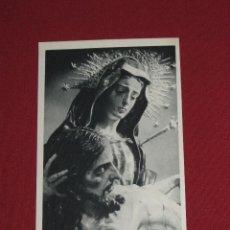 Postales: SEMANA SANTA DE GRANADA - ED. FOURNIER - FOTO TORRES MOLINA - NTRA SRA ANGUSTIAS DE LA ALHAMBRA. Lote 44018383