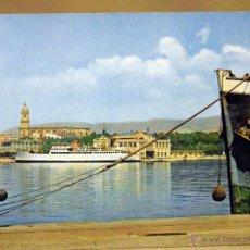 Postales: POSTAL, MALAGA, PUERTO, AGATA. Lote 44159483
