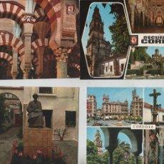Postales: POSTALES-LOTE DE 5 POSTALES DE CORDOBA (VER FOTOS). Lote 44166300