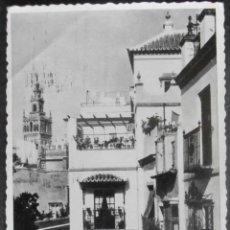Postales: (18590)POSTAL ESCRITA,BARRIO DE SANTA CRUZ,SEVILLA,SEVILLA,ANDALUCIA,CONSERVACION:. Lote 44254294