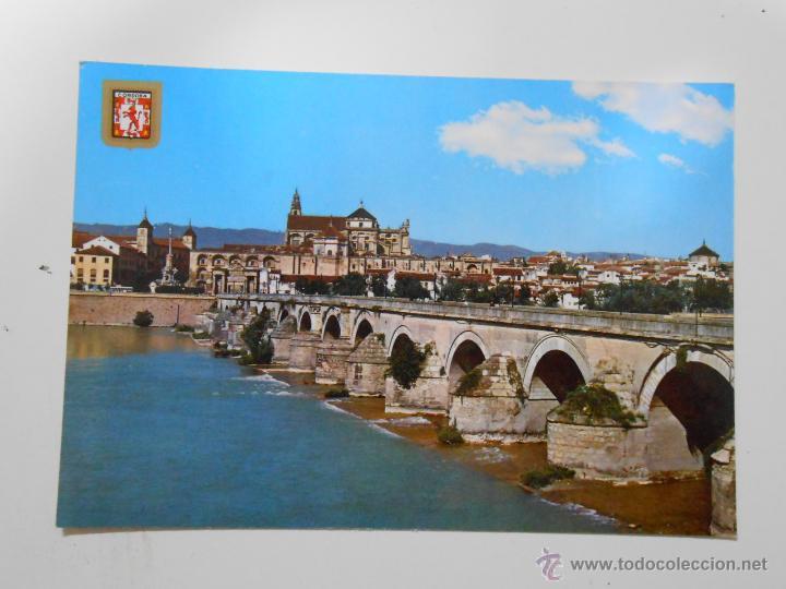 POSTAL DE CORDOBA. PUENTE ROMANO. AL FONDO VISTA PARCIAL. TDKP1 (Postales - España - Andalucia Moderna (desde 1.940))