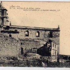 Postales: ALCALA LA REAL JAEN. LOPEZ FOT. Nº 14 VISTA EXTERIOR DE LA IGLESIA ABACIAL 2ª. SIN CIRCULAR.. Lote 44467552
