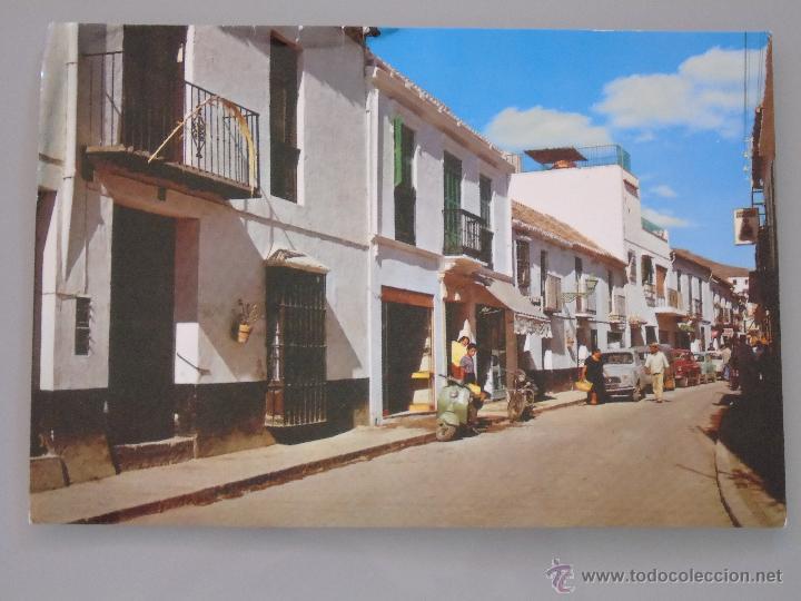 POSTAL DE MÁLAGA. AÑO 1963. TORREMOLINOS. CALLE SAN MIGUEL. 338 (Postales - España - Andalucia Moderna (desde 1.940))