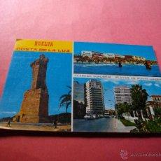 Postales: POSTAL DE HUELVA BONITAS VISTAS . Lote 44732756