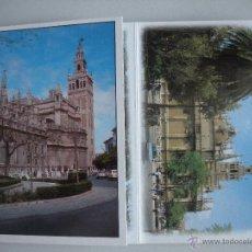 Postales: MAGNIFICO DESPLEGABLE- RECUERDO DE SEVILLA DE 12 POSTALES -. Lote 44809992