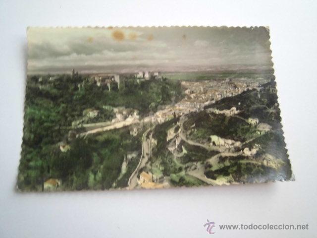 GRANADA 24.-VISTA PARCIAL DESDE SACRO MONTE.EDICIONES SICILIA (Postales - España - Andalucia Moderna (desde 1.940))