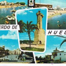Postales: POSTAL: RECUERDO DE HUELVA. A. SUBIRATS. Nº 1313. (NO CIRCULADA. SIN USO). Lote 44851101