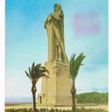 Postales: POSTAL: MONUMENTO A COLON. (HUELVA). ARRIBAS Nº 2025. ( CIRCULADA. ESCRITA). Lote 44851330