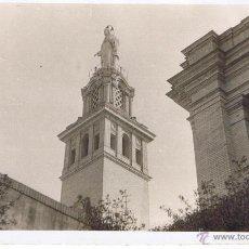 Postales: POSTAL: FOTO MONUMENTO SAGRADO CORAZÓN. SAN JUAN DE AZNALFARACHE (SEVILLA). ESCRITA.. Lote 44853087