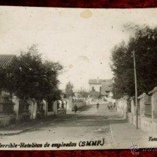 Postales: POSTAL FOTOGRAFICA DE PUEBLO NUEVO TERRIBLE - HOTELITOS DE EMPLEADOS (S.M.M.P.), FOTO NAVARRO, EDITO. Lote 44944321
