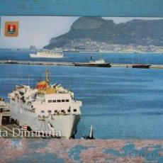 Postales: ANTIGUA POSTAL DE ALGECIRAS - VISTA DEL PUERTO AL FONDO EL PEÑON DE GIBRALTAR - SUBIRATS CASANOVAS N. Lote 45024438