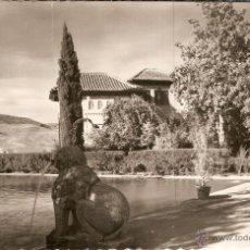 Postales: GRANADA Nº 225 EL PORTAL JARDINES HIJOS DE GALLEGOS - GRANADA SIN CIRCULAR. Lote 45150594