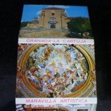 Postales: GRANADA - LA CARTUJA - DESPLEGABLE DE 16 POSTALES. Lote 45164134