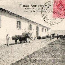 Postales: ANTIGUA POSTAL -MANUEL GUERRERO Y CIA- VINOS Y COGÑACS-JEREZ DE LA FRONTERA. Lote 45267832