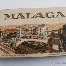Postales: LIBRO POSTAL MALAGA ROISIN BARCELONA 20 POSTALES Nº 41 A 60 , DOBLE TONO BISTRE. Lote 45328034