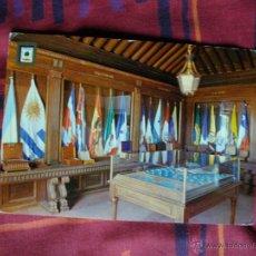 Postales: POSTAL DE LA RABIDA SALA DE BANDERAS . Lote 45404203