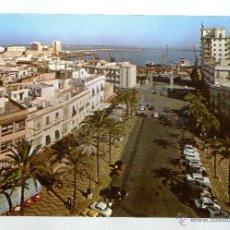 Postales: CADIZ PLAZA DE S JUAN DE DIOS Y PUERTO - EDICION SICILIA - POSTAL. Lote 45460450