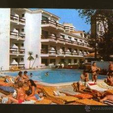 Postales: TORREMOLINOS HOTEL DON PEDRO PLAYA LIDO MALAGA - EDICION COSTA DEL SOL - POSTAL. Lote 45460590