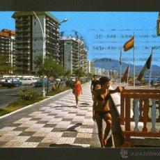 Postales: FUENGIROLA PASEO MARITIMO MALAGA - EDICION ESCUDO DE ORO - POSTAL. Lote 45460723
