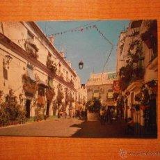 Postales: POSTAL CADIZ PLAZUELA PINTO CIRCULADA. Lote 45531886