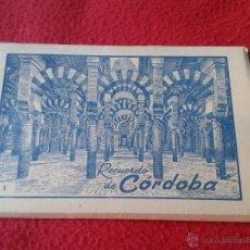 Postales: ANTIGUO ACORDEON BLOC TACO BLOQUE DE 10 POSTALES FOTOS RECUERDO DE CORDOBA EDICIONES ARRIBAS. Lote 45542023