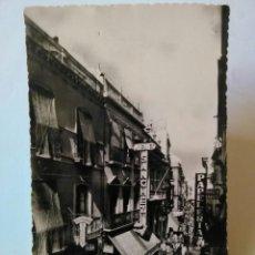 Postales: SEVILLA, CALLE SIERPES. AÑOS 40/50. HELIOTIPIA ARTÍSTICA ESPAÑOLA.. Lote 45572989