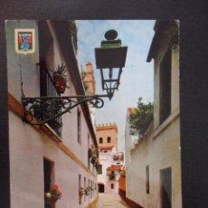 Postales: SEVILLA. TORREON DE LA JUDERIA. POSTAL ESCRITA AÑO 1966.. Lote 45613611