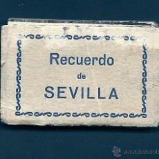 Postales: F58- ANTIGUO RECUERDO DE SEVILLA- 18 ANTIGUAS MINI POSTALES EN ACORDEÓN -5,5X3,5 CM. Lote 45638340