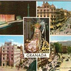 Postales: GRANADA, DIVERSOS ASPECTOS - EDICIONES ARRIBAS Nº 2078 - SIN CIRCULAR. Lote 45854847