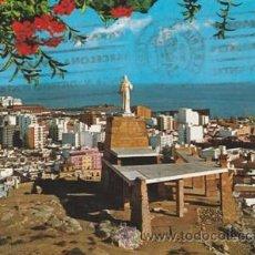 Postales: ALMERIA - MONUMENTO AL SAGRADO CORAZON DE JESUS - Nº 7060 - ED.BEASCOA - AÑO 1969 -ESCRITA. Lote 45898836