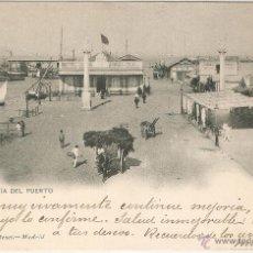Postales: CADIZ Nº1217 CAPITANIA DEL PUERTO HAUSER Y MENET CIRCULADA EN 1903. Lote 45922759