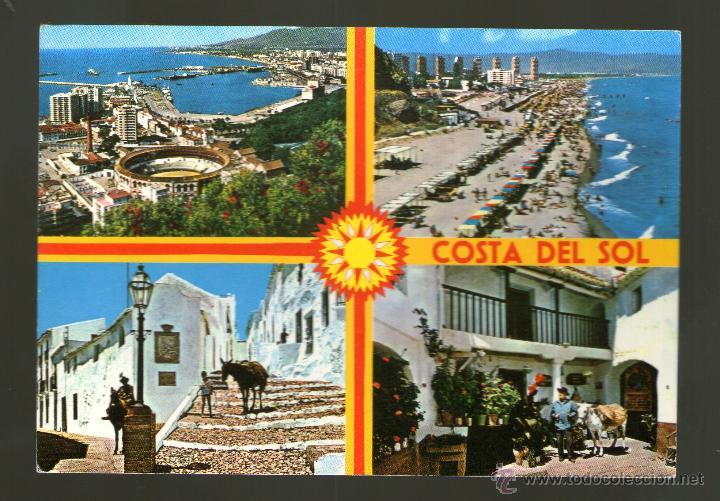 MALAGA COSTA DEL SOL - EDICIÓN COSTA DEL SOL - POSTAL (Postales - España - Andalucia Moderna (desde 1.940))