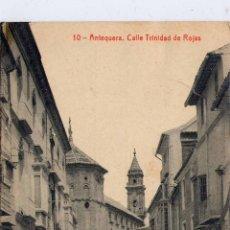 Postales: ANTEQUERA (MÁLAGA).- CALLE TRINIDAD DE ROJAS. Lote 46052349