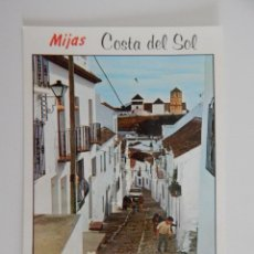 Postales: MIJAS (COSTA DEL SOL): CALLE TÍPICA. Lote 46261725
