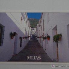 Postales: MIJAS (COSTA DEL SOL): CALLE TÍPICA. Lote 46267759