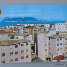 Postales: POSTAL DE CÁDIZ GIBRALTAR. AÑO 1970. ALGECIRAS, VISTA PARCIAL, AL FONDO EL PEÑÓN. 407. Lote 46281336