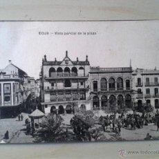 Postales: POSTAL ANTIGUA ÉCIJA. VISTA PARCIAL DE LA PLAZA.. Lote 46458764
