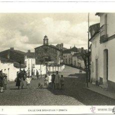 Postales: (PS-42991)POSTAL FOTOGRAFICA DE CORTEGANA-CALLE SAN SEBASTIAN Y ERMITA. Lote 46485750