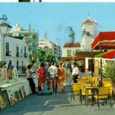 Postales: TORREMOLINOS CALLE DE LA NOGALERA. Lote 46513931