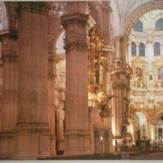 Postales: - MAGNIFICA POSTAL - DE GRANADA- - CATEDRAL - SIN CIRCULAR -. Lote 46552453