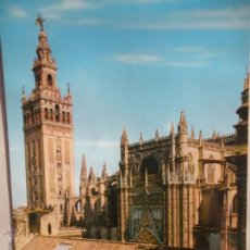 Postales: - MAGNIFICA POSTAL DE - SEVILLA - LA GIRALDA -. Lote 46552554