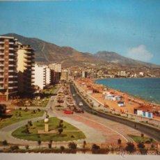 Postales: MAGNIFICA POSTAL DE - FUENGUIROLA - MALAGA- PASEO MARITIMO -. Lote 46552850